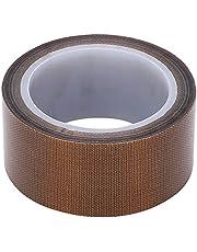 PTFE Tape Hoge Temperatuur Doek Isolatie Zelfklevende Roll Vacuüm Afdichtingsmachine Verbruiksgoederen (Dikte 0.13* breedte 13mm*lengte 10)