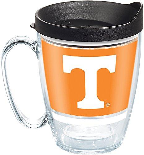 Tervis 1288111 Tennessee Volunteers Legend Coffee Mug With Lid, 16 oz, - Mug Tennessee Volunteers Coffee