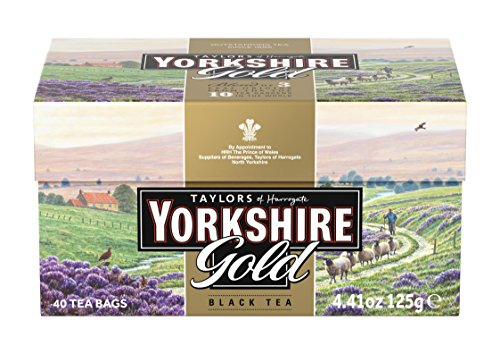 (Taylors of Harrogate Yorkshire Gold, 40 Teabags)