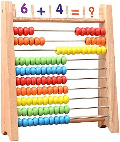 SHJBZ Material didáctico aritmético for niños Ábaco Ábaco ...