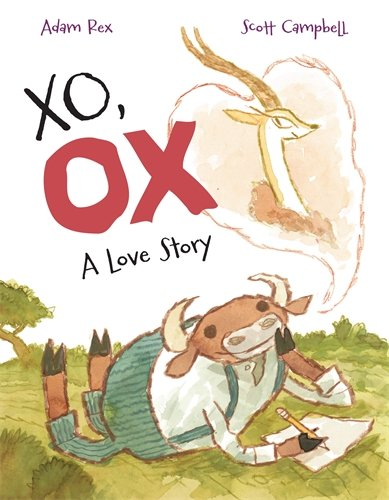 Book cover from XO, OX: A Love Story by Adam Rex