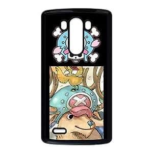 Stylish One Piece Design LG G3 Cell Phone Case Funda negro 26