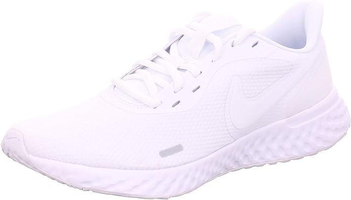Nike Revolution 5, Zapatillas de Running para Mujer, Blanco, 47 EU: Amazon.es: Zapatos y complementos