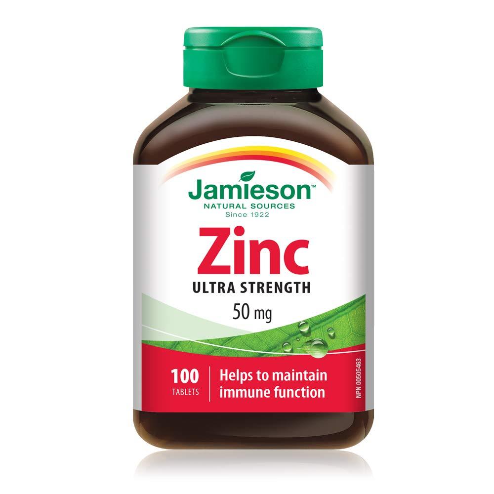 Jamieson Laboratories Zinc 50 Mg