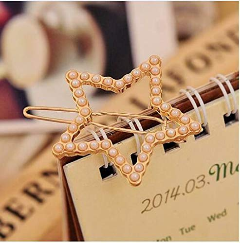 MOPOLIS Fashion 1pcs Crown Stars Bowknot Pearl Inlaid Molding Hair Clips Bobby Pin NEW | Type - - Murano Glass Crocodile