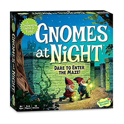 Peaceable Kingdom/ Gnomes at Night- A Cooperative Maze Game for Kids!: Toys & Games