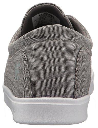 etnies Skate Zapato Hombres barrage SC Skate Zapatos, Gris/Blanco, 5 gris/blanco
