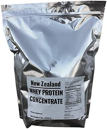 100 New Zealand 7000 Whey Protein – 5 LBS