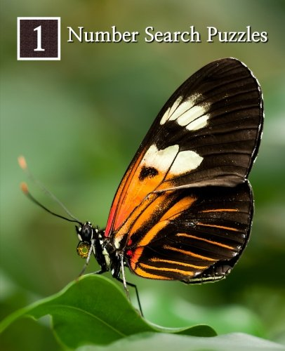 Read Online Number Search Puzzles 1: 100 Elegant Puzzles in Large Print (Volume 1) ebook