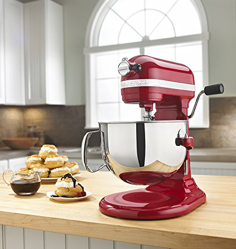KitchenAid KP26M1XER 6 Qt. Professional 600 Series Bowl-Lift Stand Mixer - Empire Red by KitchenAid (Image #5)