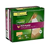 Depend Underwear for Women, Moderate Absorbency, Small/Medium, Pack/21 by Depend