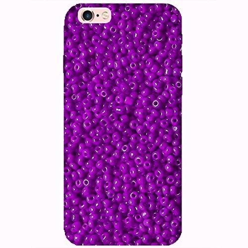 Coque Apple Iphone 6-6s - Perles violettes