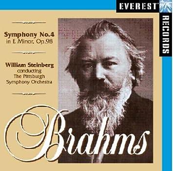 Sinfonie 4 - Pittsburgh Symphony Orchestra, Steinberg, William, Brahms,  Johannes: Amazon.de: Musik