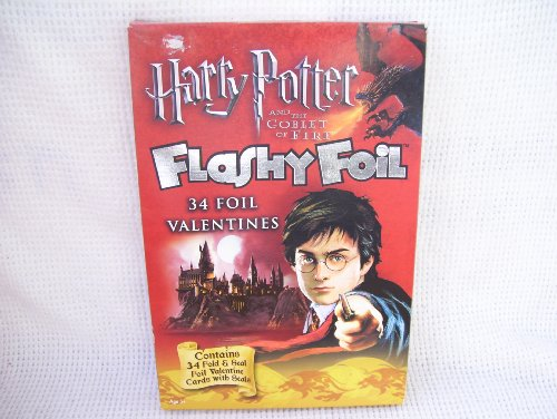Harry Potter and The Goblet of Fire Flashly Foil Valentines
