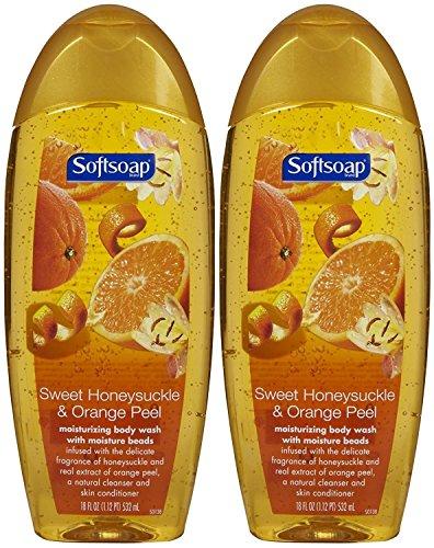 (Softsoap Moisturizing Body Wash - Honeysuckle & Orange Peel - 18 oz - 2 pk)