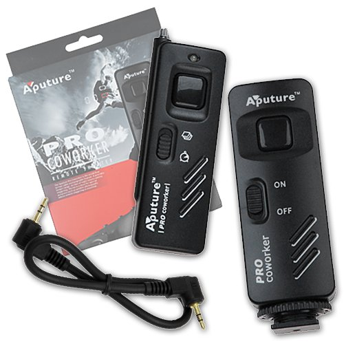 Fotodiox Aputure Pro Coworker Wireless Remote, RF Radio Shutter Release for Canon EOS Digital Rebel T2i, T3, T3i, T4i, T5i, SL1, Powershot G10, G11, G12, G1X, Replaces Canon RS 60-E3 ACO-CARBW