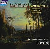 Martucci: Symphony No. 1; Novelletta; Notturno; Tarantella [Winner Grand Prix du Disque de l'Academie Charles Cros]