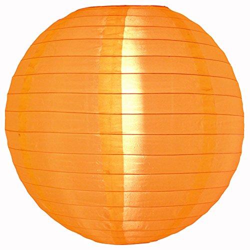 PaperLanternStorecom-30-Orange-Nylon-Lantern-Durable-Hanging-Decoration