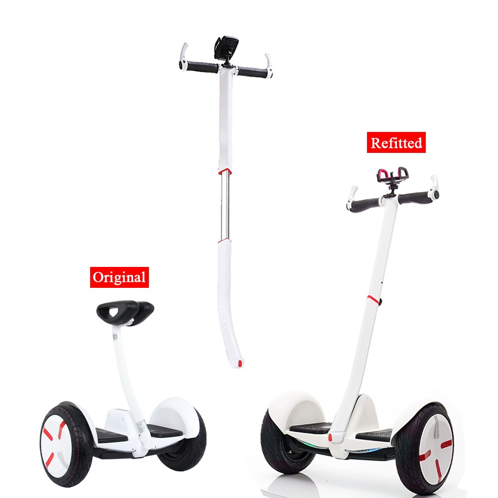 Lixada Adjustable Self Balancing Scooter Handle Handrail Hand Xiaomi Ninebot Mini Black Control Extension Lever Rod For And Pro Parts