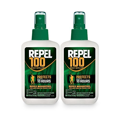 Repel 100 Insect Repellent, Pump Spray, 2/4-Ounce ()