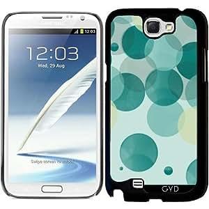 Funda para Samsung Galaxy Note 2 (GT-N7100) - Burbujas by les caprices de filles