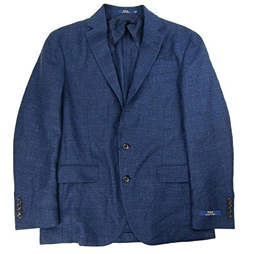 Ralph Lauren Mens Blazer (Polo Ralph Lauren Men's Morgan Slim Fit Sport Coat (Navy, 40L))