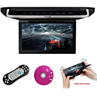 XTRONS® 10 HD Digital TFT Monitor Car Roof Flip Down Overhead DVD Player Touch Panel Game Disc with HDMI Port
