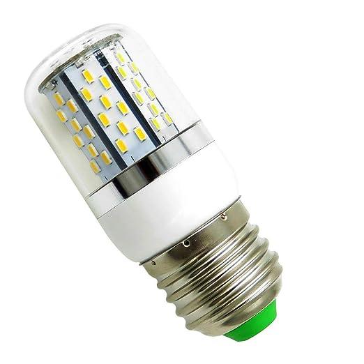 AIYOWEI E27 5W Bombilla LED Bombilla de maíz con cubierta 78-3014 SMD AC/