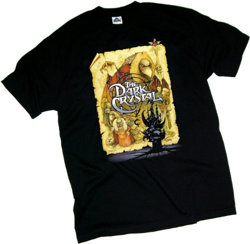 The Dark Crystal Movie Poster Adult T-Shirt, XX-Large