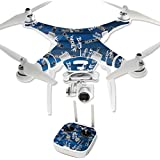 MightySkins Protective Vinyl Skin Decal for DJI Phantom 3 Professional Quadcopter Drone wrap cover sticker skins Time Travel Boxes