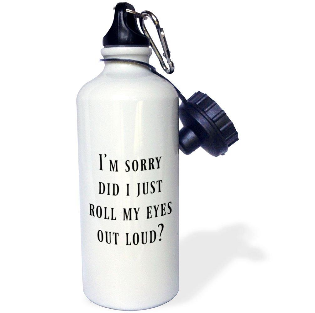 21 oz 3D Rose 1 wb/_253925/_1 Sports Water Bottle White