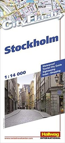 Stockholm (Rand McNally Cityflash Visitor Maps)