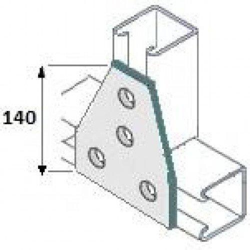 Flat Gusset/Delta Plate - (D055.Q5) Direct Channel