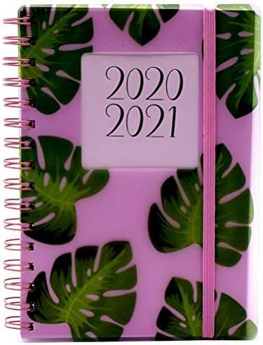 per studenti di met/à anno A5 Balena unicorno. formato A5 copertina flessibile Agenda scolastica 2020-2021