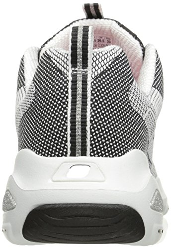 Skechers Womens Dlite Ultra Sneaker Black/White