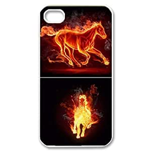 Fire Horse Popular Case for Iphone 4,4S, Hot Sale Fire Horse Case