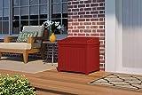 Suncast Resin Storage Seat Deck Box (22-Gallon)