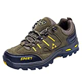 Fheaven (TM)) Couple Outdoor Sneakers Casual Comfortable Running Mountaineering Shoes Lace-up Shoes (US:7.5, Army Green)