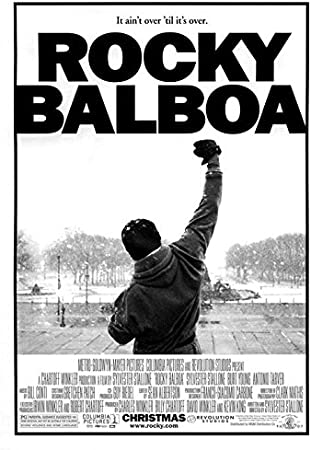 Rocky Balboa Blanco y Negro Póster liberación Impresión ...