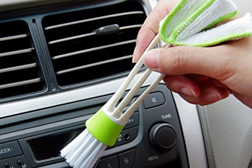 Sujing Air-condition Cleaner Computer Clean Tools Window Leaves Blinds Cleaner Duster Pocket Brush Keyboard Dust Collector by Sujing (Image #4)