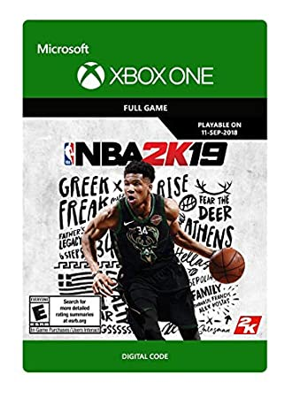 NBA 2K19 - Pre-load - Xbox One [Digital Code]