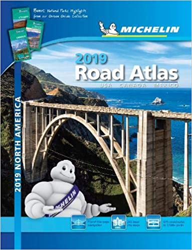 USA//Canada//Mexico Michelin Road Atlas