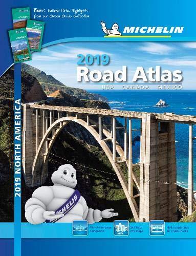Michelin North America Road Atlas 2019 (Atlas (Michelin)) ()