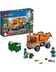 LEGO 60220 City Vuilniswagen Speelgoed Vrachtwagen met 2 Poppetjes en Accessoires voor Kinderen van 4 Jaar en Ouder