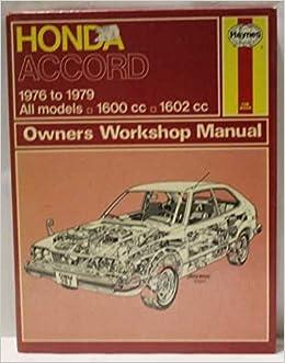 Honda Accord 1976-80 Owners Workshop Manual: Amazon.es: J. H. Haynes, Ian Coomber: Libros en idiomas extranjeros