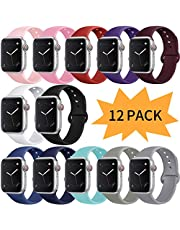 Bravely klimbing Compatible with Apple Watch Band 38mm 40mm 42mm 44mm, for Women Men, iwatch Bands Compatible with iWatch Series 3, Series 4, Series 2, Series 1, S/M, M/L