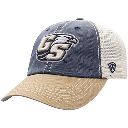 Georgia Southern Eagles Golf - Top of the World Georgia Southern Eagles Men's Mesh-Back Hat Icon, Navy, Adjustable