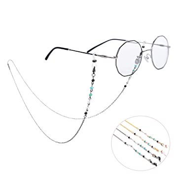 Amazon.com: Yantu - 3 cadenas de gafas de sol para mujer con ...
