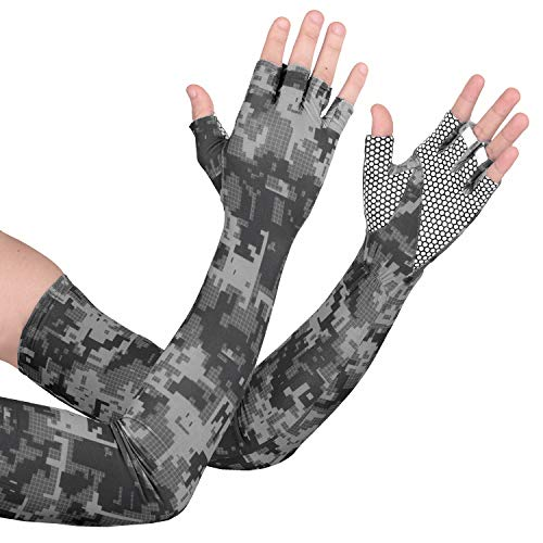 Men's Accessories Gentle Quick Dry Tattoo Sleeve Sunscreen Cycling Running Comfortable Cool Long Arm Warmers Art Tatto Designs Nylon Elastic Temporary Aesthetic Appearance Apparel Accessories