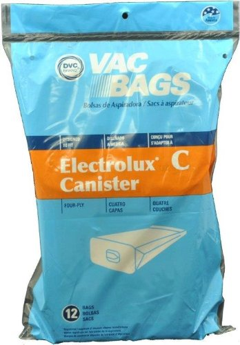 Home Care Electrolux Canister Paper Bags, 12 Pack
